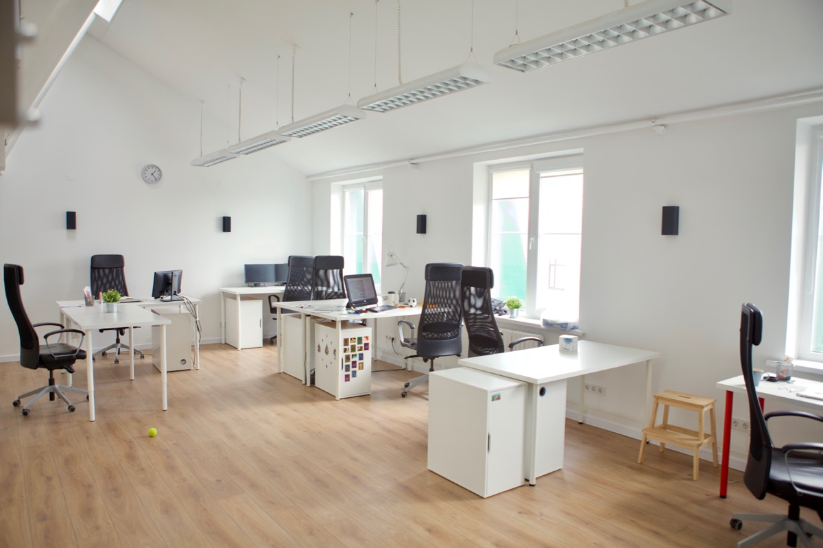 Working area at Jazz Pixels