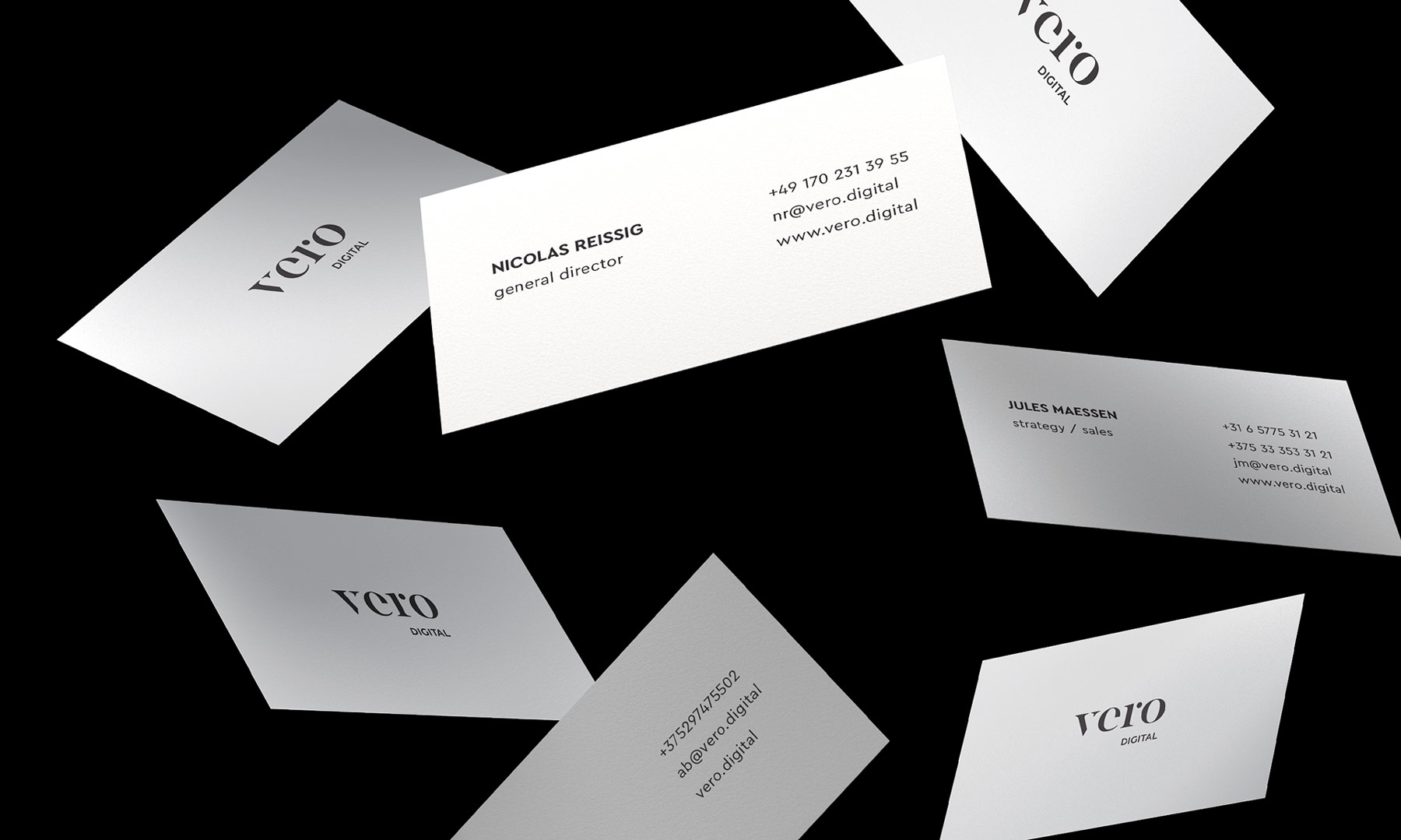 VERO identity & website